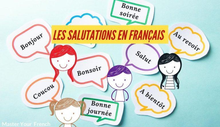 expressions de salutations en français