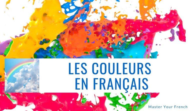 les couleurs en francais