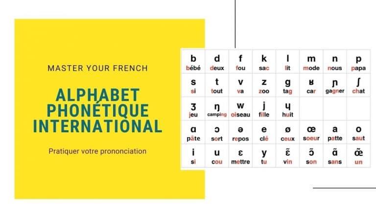 alphabet phonetique international pour le français