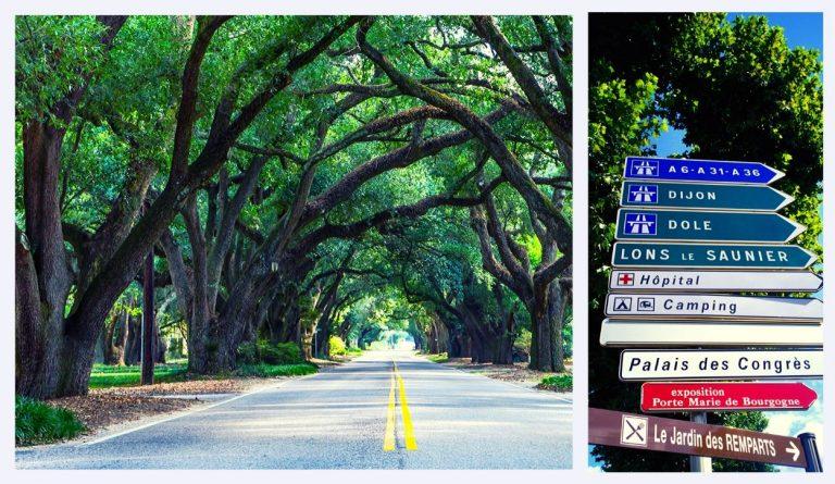 directions de route villes en france
