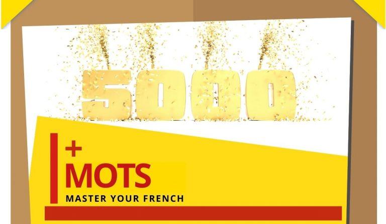 nombre 5000 mots pour parler français