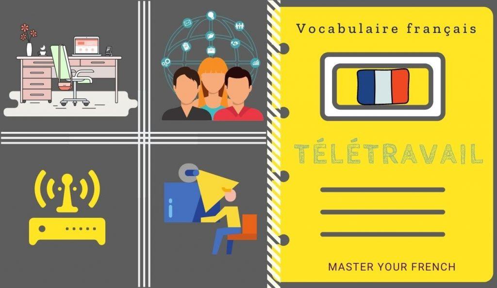 vocabulaire du télétravail en français