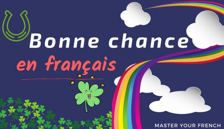 bonne chance en français
