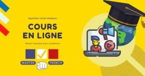 cours de français en ligne de master your french