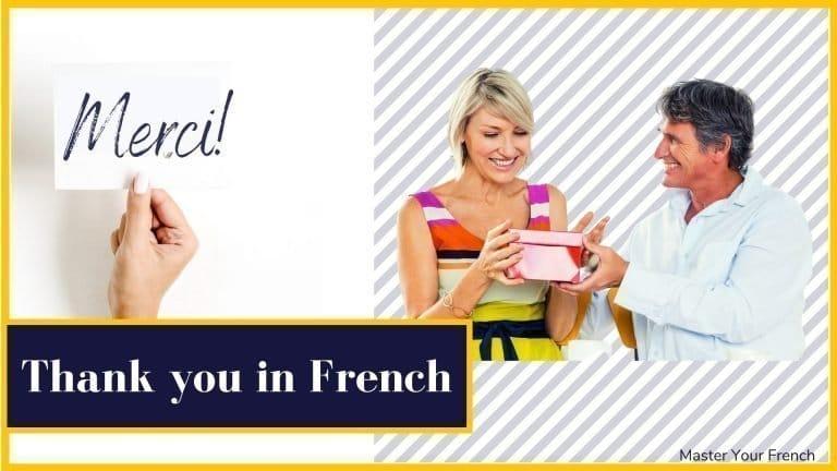 dire merci en français