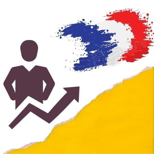progrès flèche français