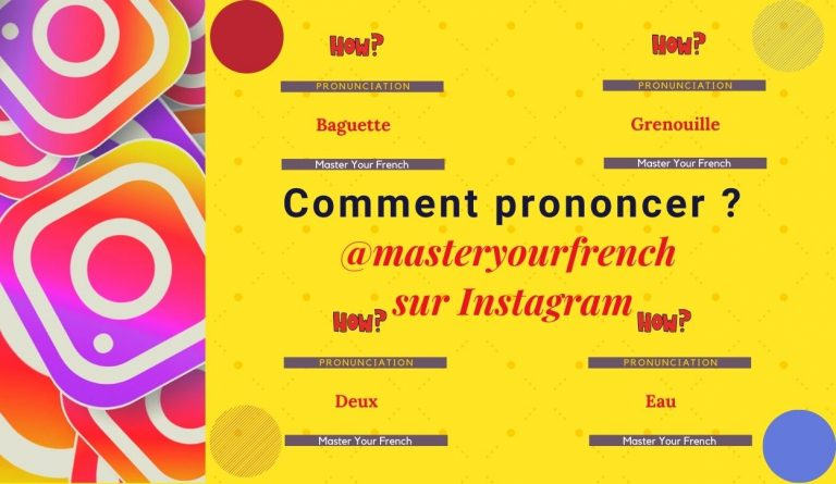 comment prononcer compter masteryourfrench sur instagram