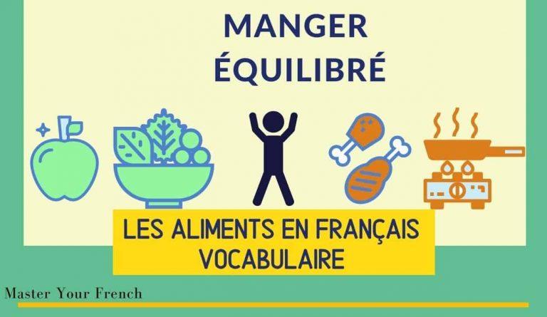 les aliments en français