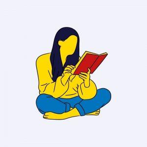 personne en train de lire