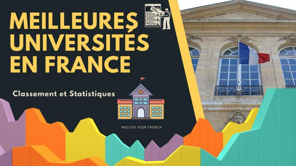 classement universites francaises et statistiques