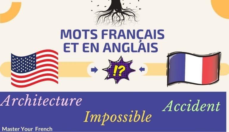 cognates francais anglais