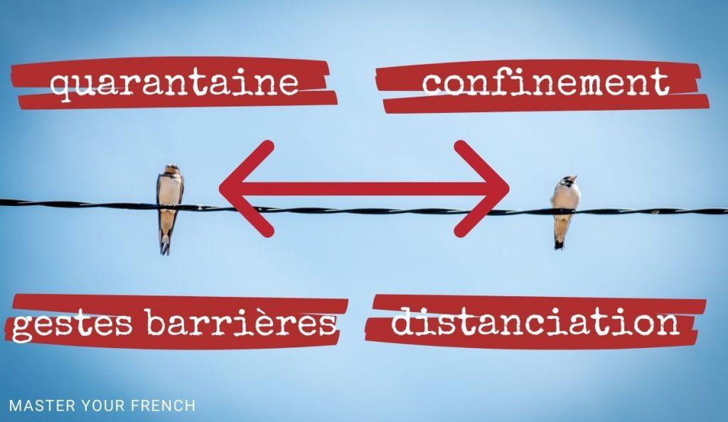 quarantaine distanciation