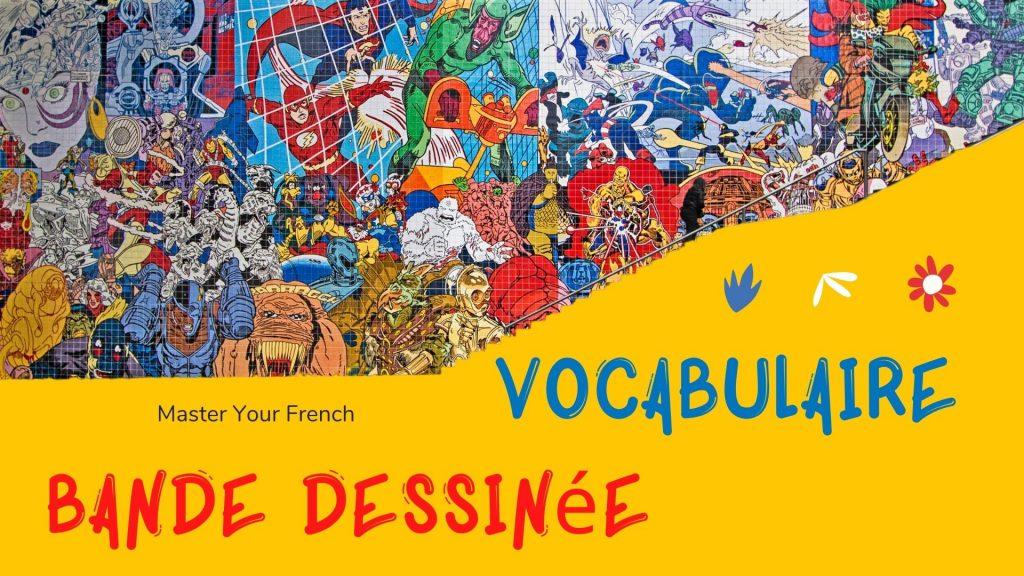 vocabulaire de la bd en francais