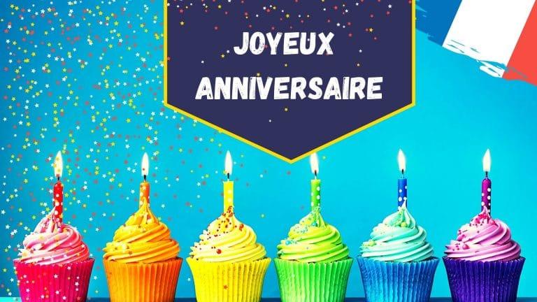 souhaiter bon anniversaire en français