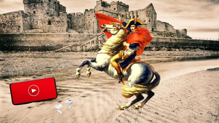 napoleon sur un cheval blanc