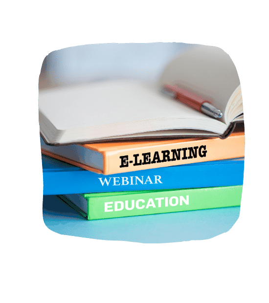 education webinar elearning books