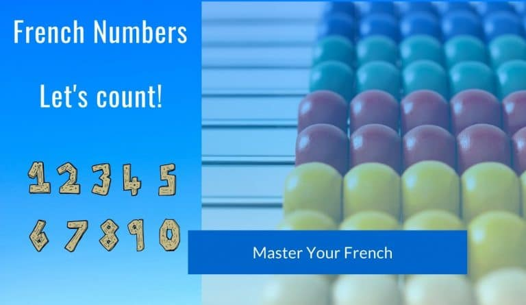 learn french numbers