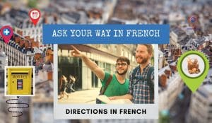 ask for directions in french