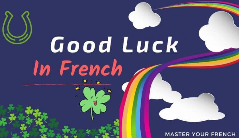 good luck in french illustration