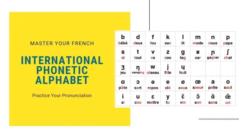international phonetic alphabet master your french
