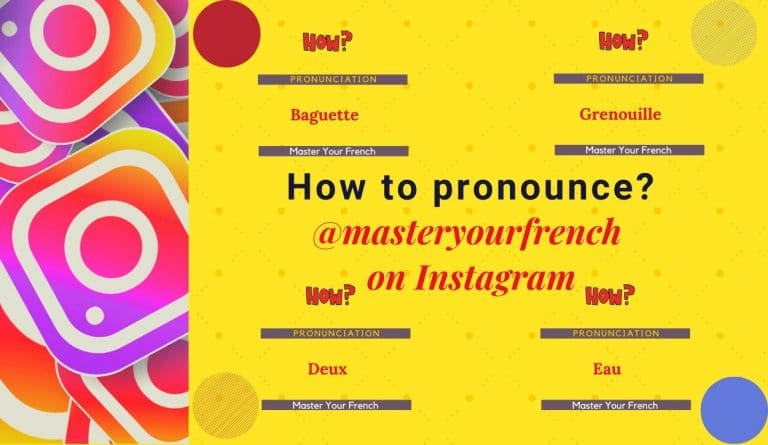 masteryourfrench instagram learn french pronunciation