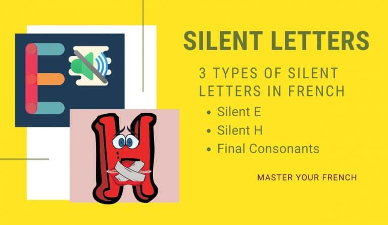 pronunciation silent letters french (lettres muettes) master your french
