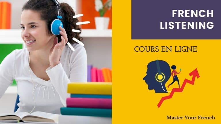 cours en ligne master your french écoute et compréhension