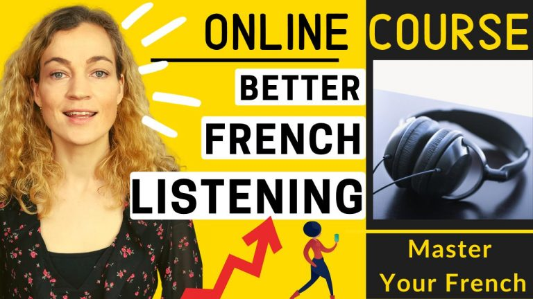 french listening comprehension online course
