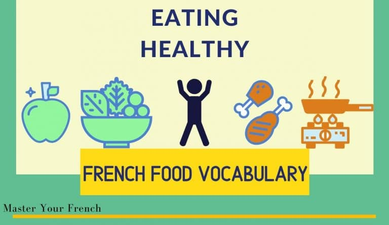 eating healthy french food vocabulary