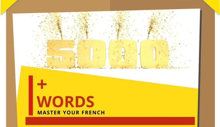 number 5000 words to speak french language