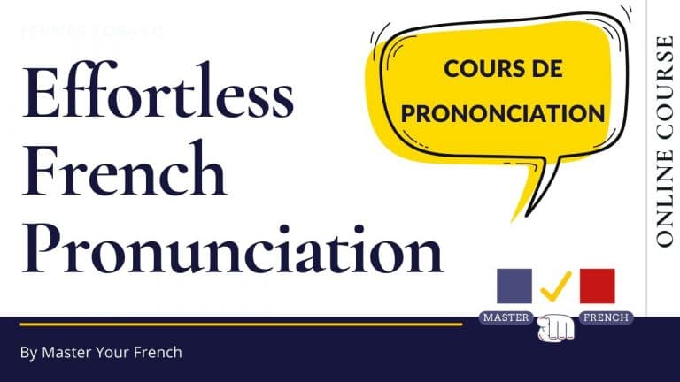 french pronunciation course