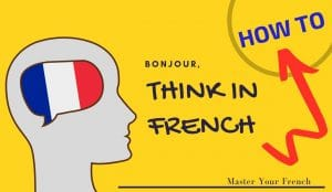 how to think in french france flag human illustration