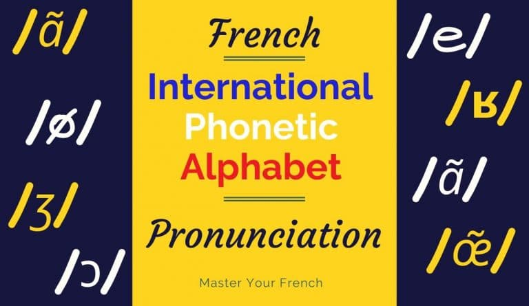 International Phonetic Alphabet To Learn French Pronunciation Master Your French