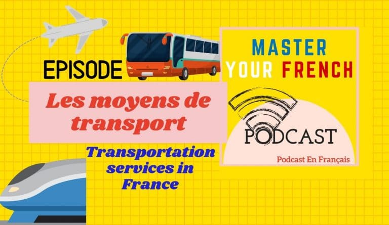 moyens de transport en France train bus avion