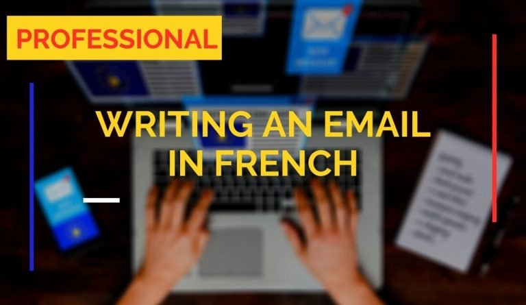 email writing professional text