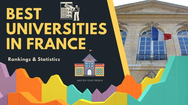best universities france statistics ranking