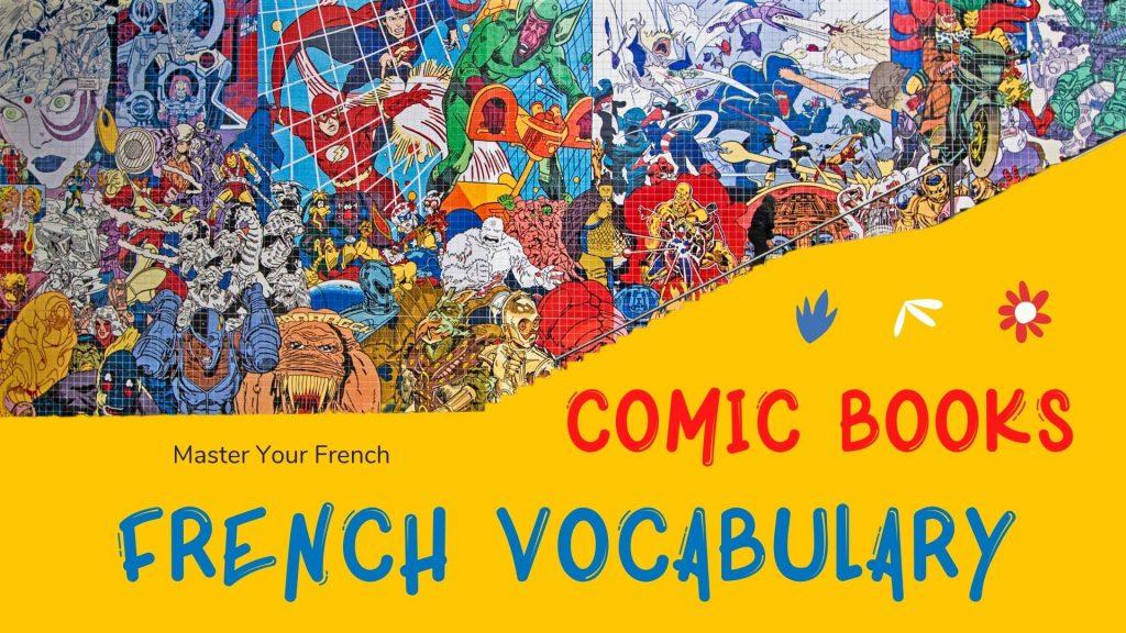 comics french vocabulary