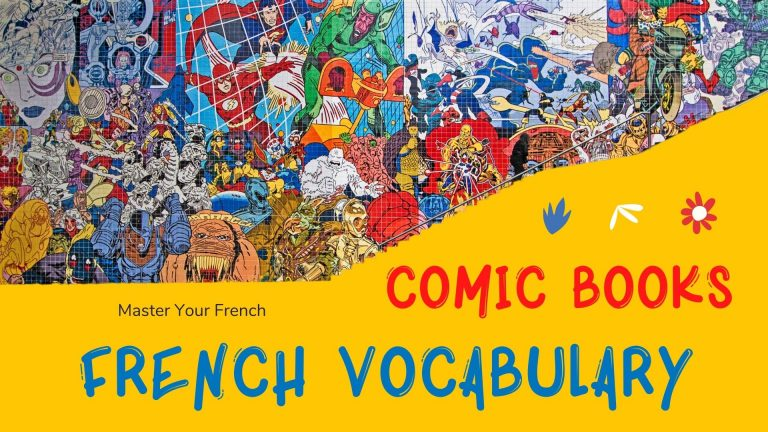 comics french vocabulary