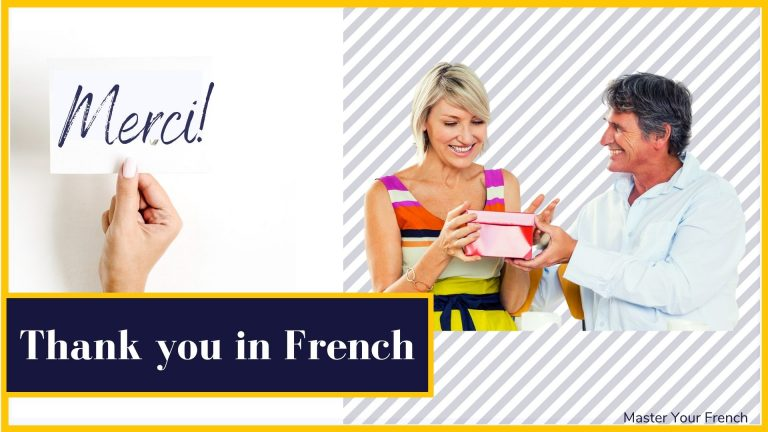 thank you in French merci