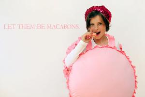french macaroon halloween costume girl