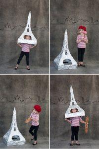 eiffel tower costume kids