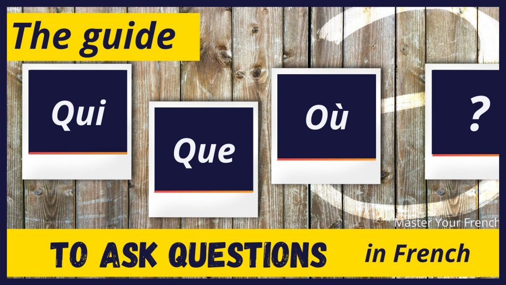 ask question in french