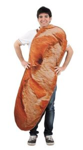 costume french long bread baguette