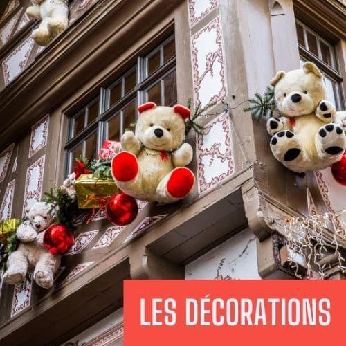 decorations noël france