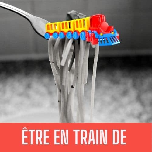 train on a fork