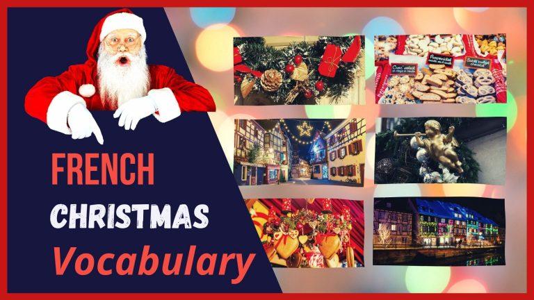 french christmas vocabulary