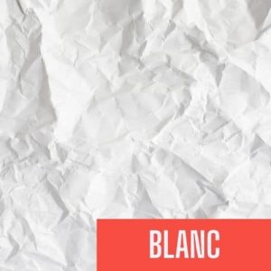 french color blanc