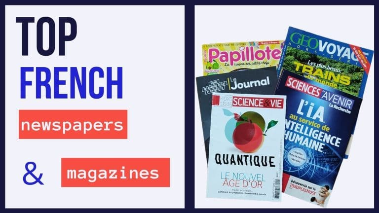 top french magazines and newspapers