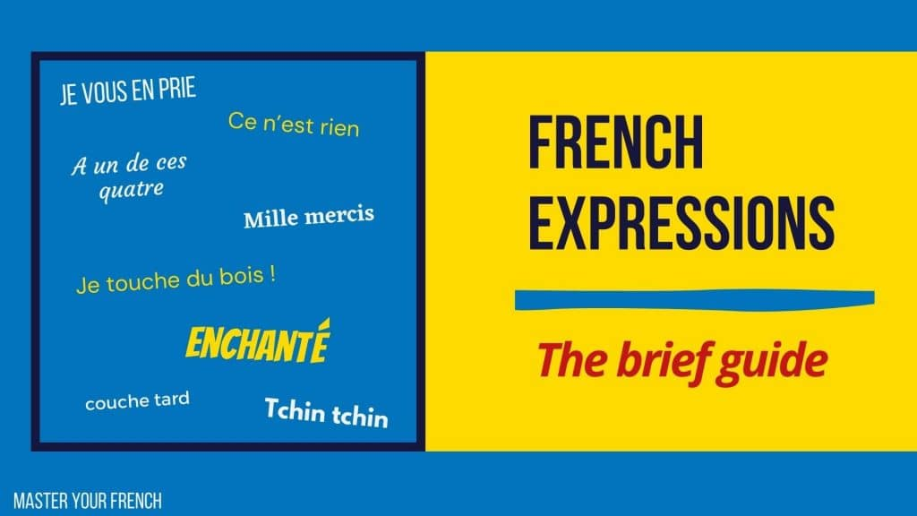 brief guide to useful french expressions