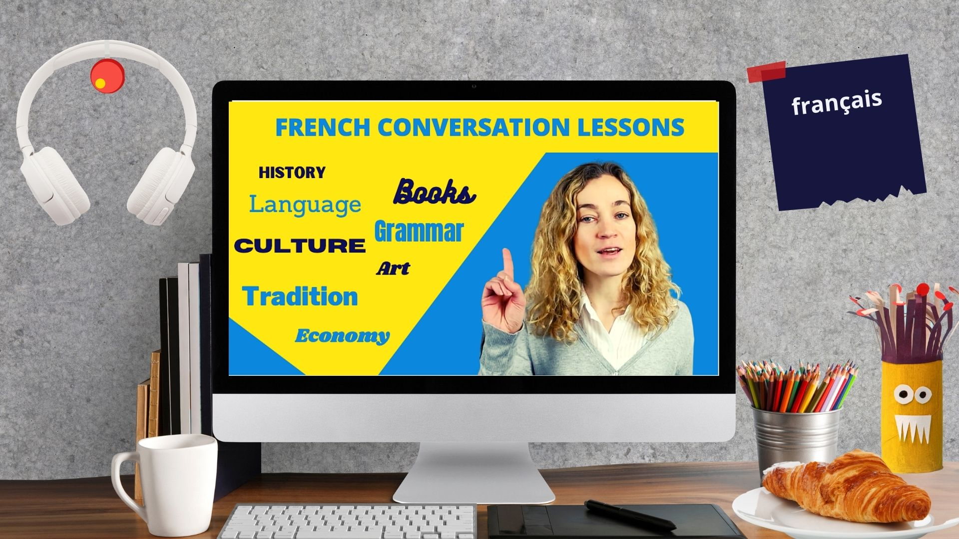 online private french conversation